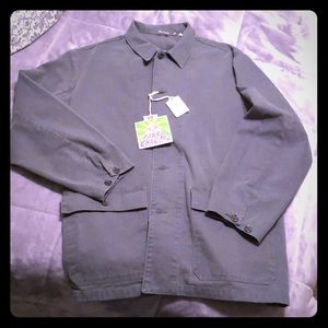 Forever changes green jean jacket